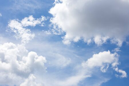 beautiful sky: Beautiful sky with clouds for background