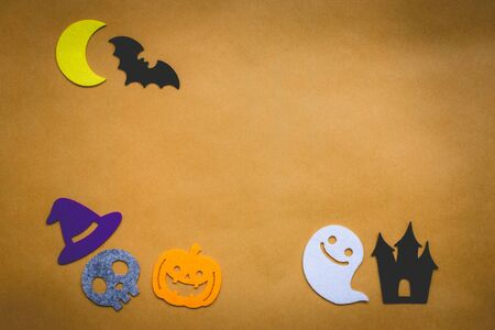 ��copy space �: Halloween background and copy space