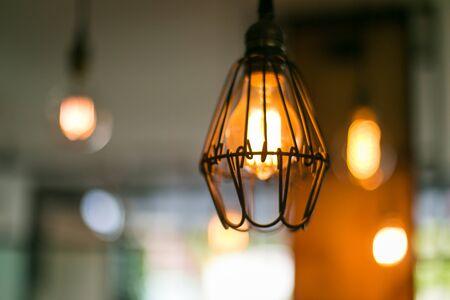 Mooie retro luxe binnenverlichting lamp decor