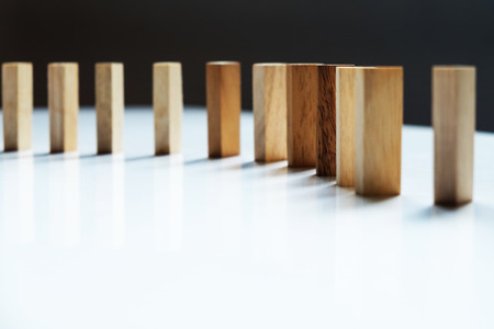 wooden block: Place a wooden block lines.