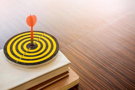 Dart is an opportunity and Dartboard is the target and goal. So both of that represent a challenge - Business concept.