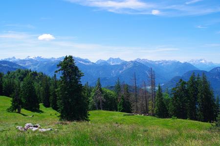 in bavaria: Hochalm Mangfallgebirge in Bavaria