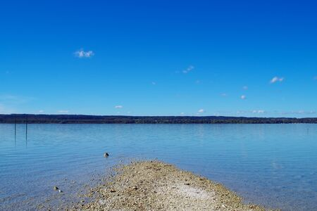 in bavaria: Ammersee in Bavaria