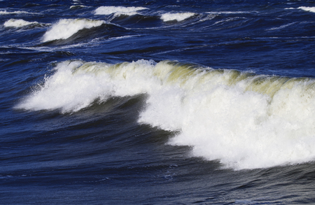 baltic: Waves on the Baltic Sea