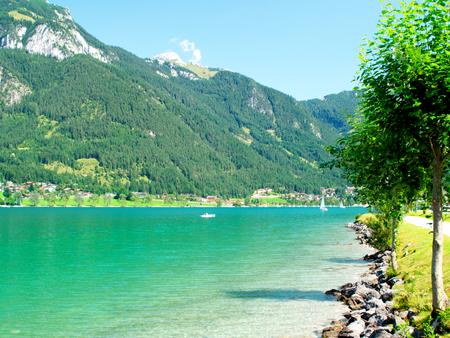 Achensee in Tirol Standard-Bild - 89321495