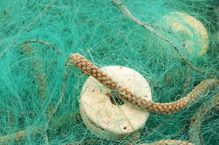 Fischernetz in Nahaufnahme Standard-Bild - 99315962
