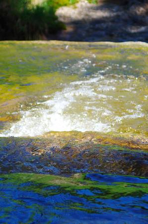Close-up of water tile down Standard-Bild - 104442683