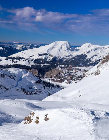 soleil: Ski slopes, mountains and Avoriaz, Portes du Soleil, France