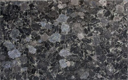 Black spotted granite  marble texture background Stock Photo
