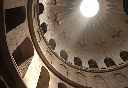 church of the holy sepulchre: Dome of Holy Sepulchre Church, Jerusalem