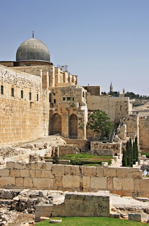 Al-Aqsa Mosque in Old City of Jerusalem, Israel Stock Photo - 7471403
