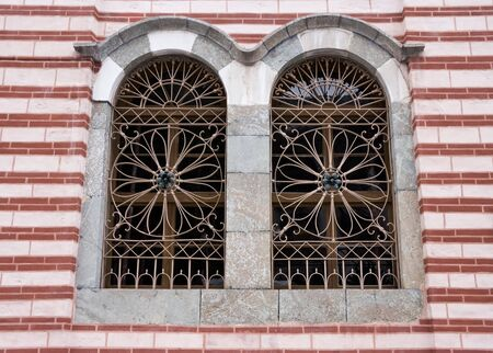 Window in Rila Monastery, Bulgaria photo