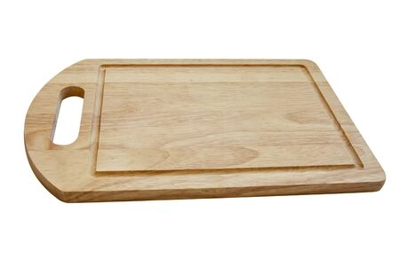 cheeseboard: Cutting board isolated on white (clipping path included)