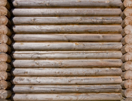 Background of old wooden boards (beams) photo