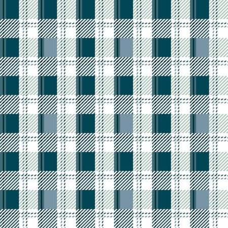 checked: Seamless checked blue and white pattern  Vector illustration Illustration