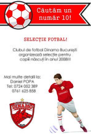 footbal: Footbal selection flyer