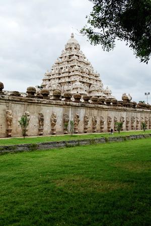 kailasanathar temple in Kanchipuram , Tamil Nadu, India  photo