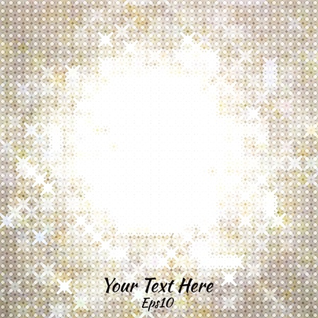 Shine abstract golden background Stock Vector - 18685513