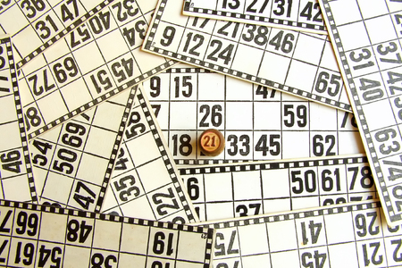 twenty one: closed number twenty one on the cards of lotto