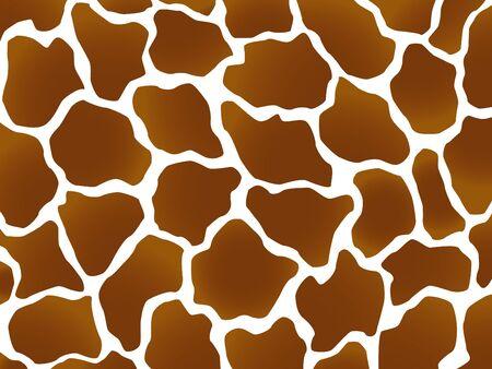Giraffe wild brown marking photo