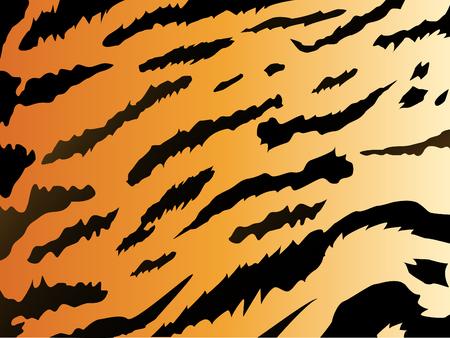 fleecy: tiger stile background Illustration