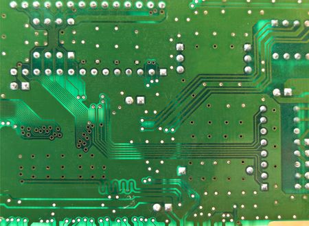 Green microcircuit may be used as background photo