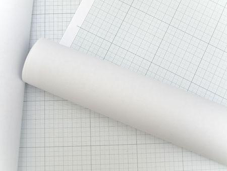 plotting: Photo of the plotting paper Stock Photo