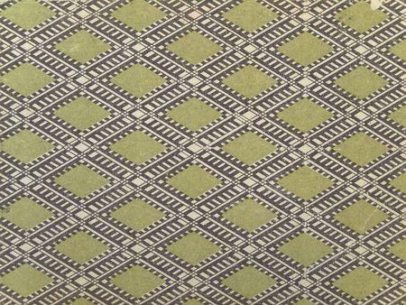 rhomb: old book cover rhomb design background