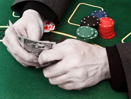 fraudster: Due carte forte nella manica del truffatore
