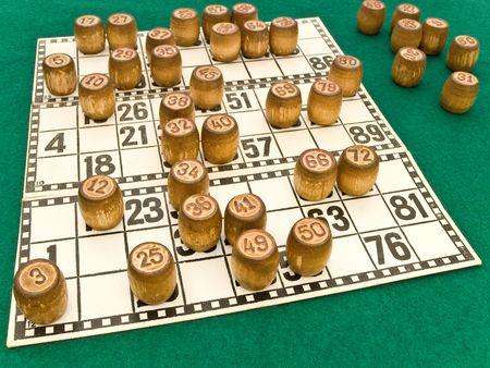 casks: photo of the bingo casks on the cards