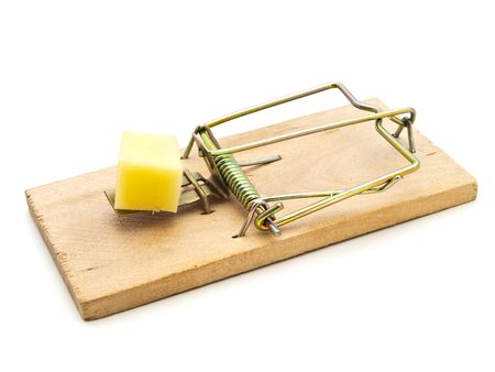 exterminate: mouse trap Stock Photo