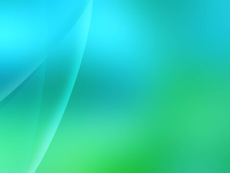 abstract modern wallpaper in light green and blue Stock Photo - 7580910