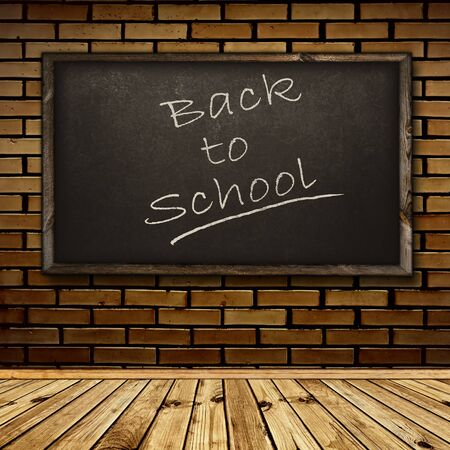 Photo of urban inter with school blackboard  Stock Photo - 9452441