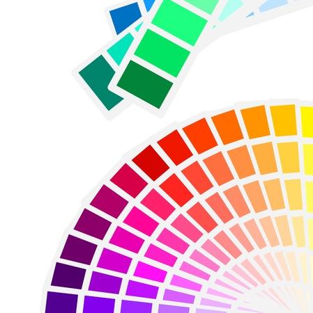 palette de couleurs de fond du spectre Vecteurs