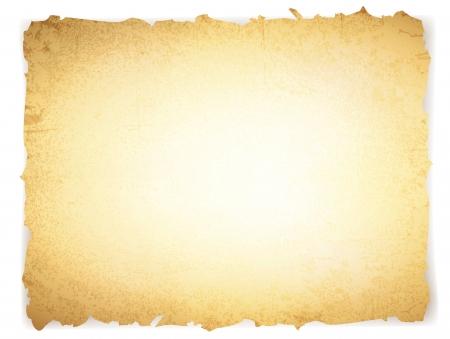 papiro: epoca grunge carta bruciata con copyspace per il testo