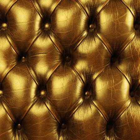 genuine leather: Close Up Fragment Of Genuine Leather Upholstery