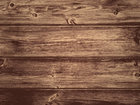 background wood: Illustration of the Natural Dark Wooden Background Illustration