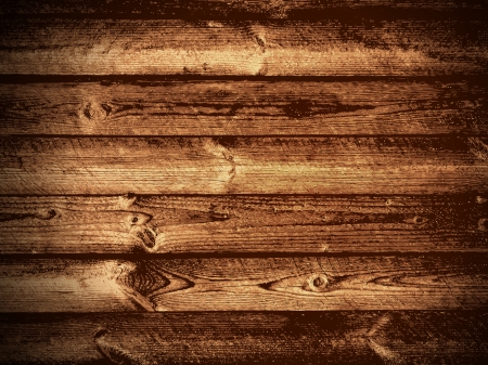 Illustration of The Natural Dark Wooden Background