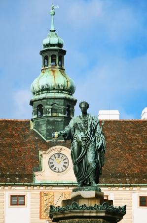 franz: The Monument To Holy Roman Emperor  Franz II And First Austrian Emperor Franz I  Vienna  Austria