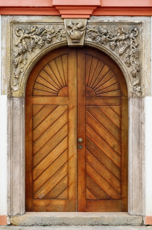 entranceway: Old Wooden Door  Main Entrance To The House