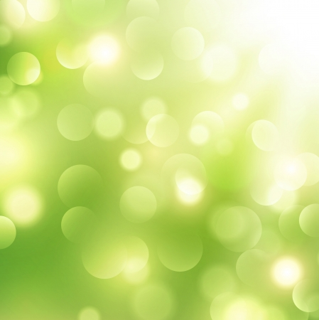 good mood: Abstract Green Sunny Good Mood Spring Background Illustration