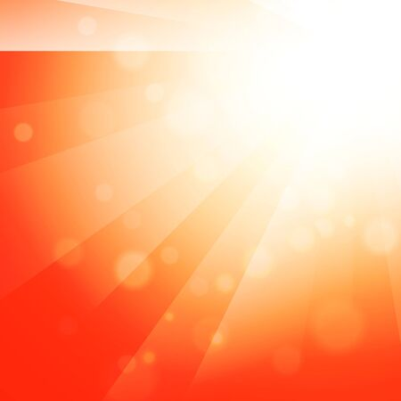 brigt: Abstract Sun Shine Brigt Orange Background Illustration