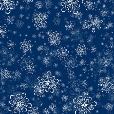 winter holiday: Vacanze Inverno fiocco di neve Piatto Sfondo Vettoriali