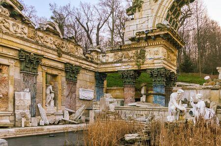plasterwork: The Roman Ruins In The Winter