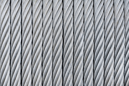 steel wire: Background Of Steel-Wire Rope Stock Photo