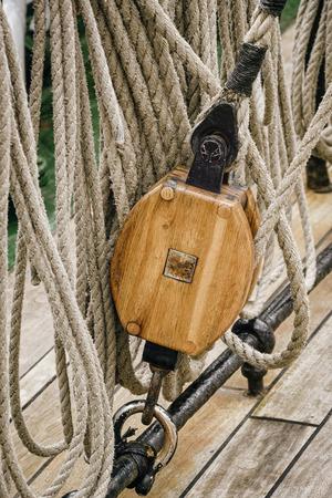 alongside: Running Rigging Alongside The Sailing Ship