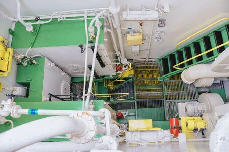 engine room: Machinery Space Of The Sailing Ship