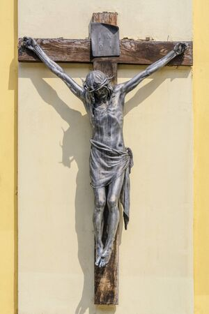 rood: Cross with a Figure of Christ on it