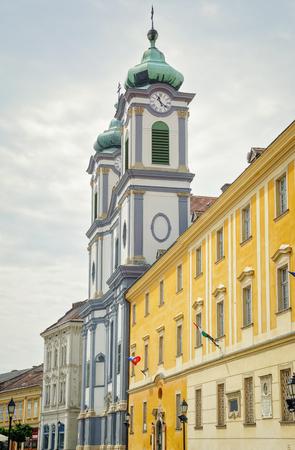catolic: Catolic Church in the City of Szekesfehervar, Hungary