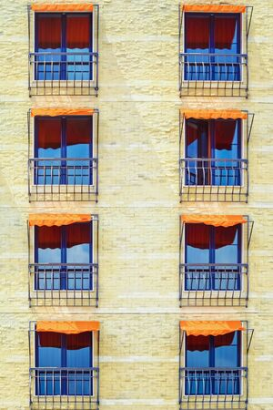 awnings: Windows with Awnings